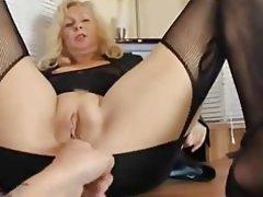 amatrice blonde francaise